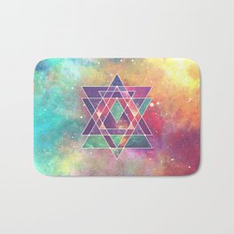 Sacred Geometry (Connection) Bath Mat