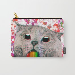 Meme Cat Carry-All Pouch