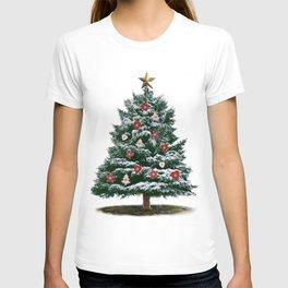 Christmas Tree by Chrissy T-shirt