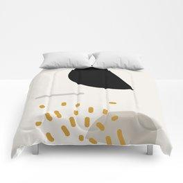 Modern Minimal Abstract Comforters