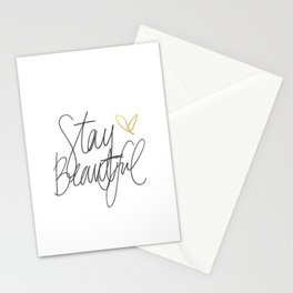 Stay Beautiful Stationery Cards