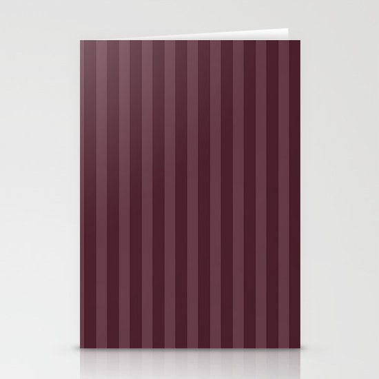 Vertical Stripes Stationery Cards