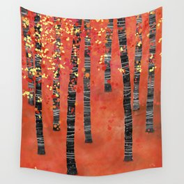 Birches Wall Tapestry