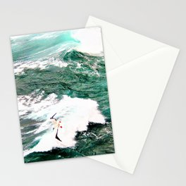 Dramatic Hawaiian Ocean Swirls by Reay of Light Stationery Cards