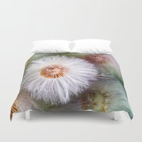dandelion Duvet Covers featuring Dandelion by Laake-Photos