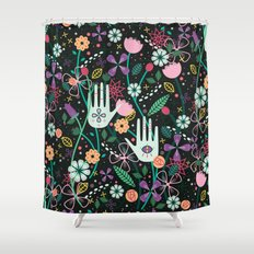 Botanical Hands Shower Curtain