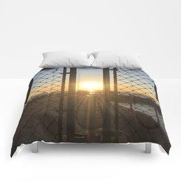 Gated Sunrise 2 Comforters