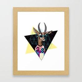 Teen Line Framed Art Print