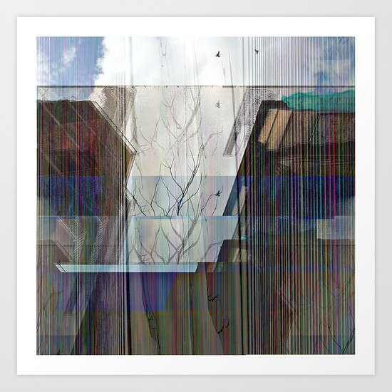 """Saturday 16 March 2013: """"...It reaches and pierces..."""" Art Print"""
