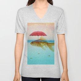 Under Cover Goldfish Unisex V-Neck