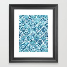 LIKE A MERMAID Framed Art Print