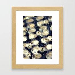 key art Framed Art Print