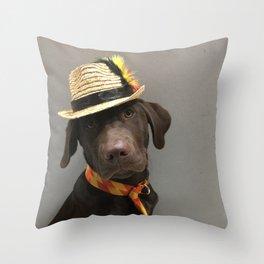 Yeah, baby Throw Pillow