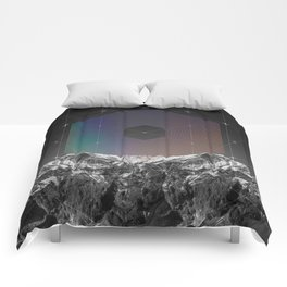 It Cannot Block Out the Sun Comforters