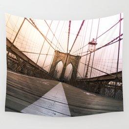 Brooklyn Bridge, New York City Wall Tapestry