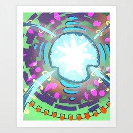 The Vital Core Art Print