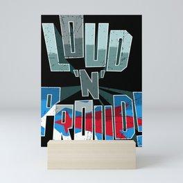 Hokkaido Ainu Pride Loud N Proud Mini Art Print