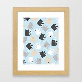 Scattercats Framed Art Print