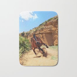 running horse Bath Mat