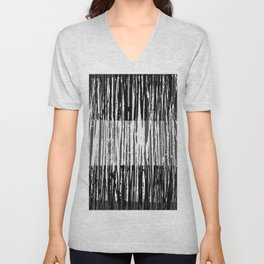 Abstract Composition 691 Unisex V-Neck
