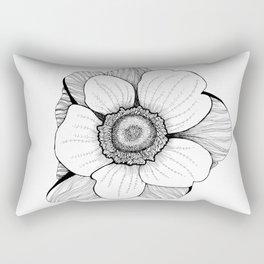 Anmone flower Rectangular Pillow