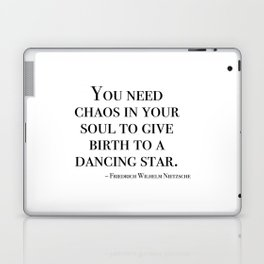 You need chaos in your soul Laptop & iPad Skin