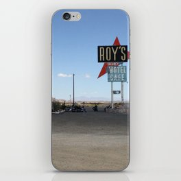 ROY'S AT AMBOY  iPhone Skin