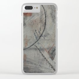 Blocked (To The Moon) Clear iPhone Case