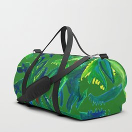 Cactus Abstract With Background Duffle Bag