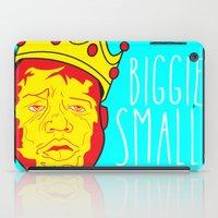 biggie smalls iPad Cases featuring Biggie Smalls by Hussein Ibrahim