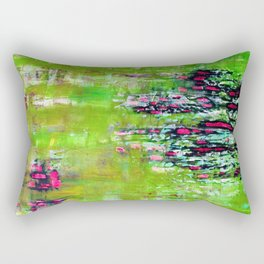 MULBERRY BARK(lemon-lime) Rectangular Pillow