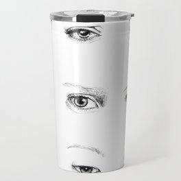 Eyes Travel Mug