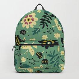 As flores do seu jardim Backpack