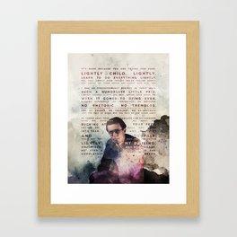 Lightly child, lightly Framed Art Print