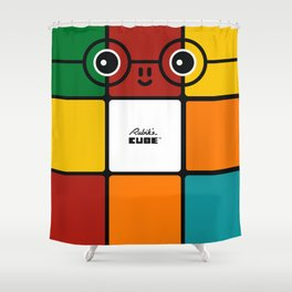Rubik Shower Curtain