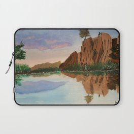Cliffside Reflections Laptop Sleeve