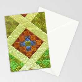 arab stained glass Stationery Cards