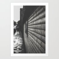 wooden Art Prints featuring wooden by Mylo Photography