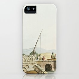 Sarcophagus from the Tombs of the Kings from Views in the Ottoman Dominions, in Europe, in Asia, and iPhone Case