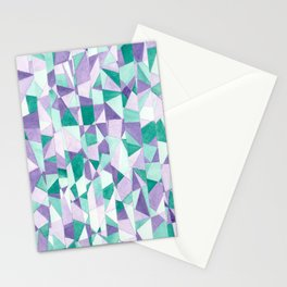 #103. JENNI (Abstract Stained Glass) Stationery Cards