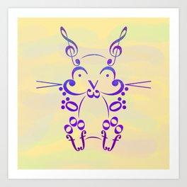Bunny Hop Art Print
