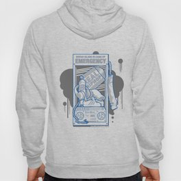 Emergency Hip Hop to the Rescue!  Hoody