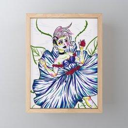 Splash of Petals Framed Mini Art Print