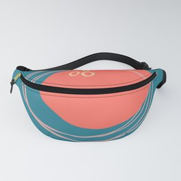 Coral Form Fanny Pack