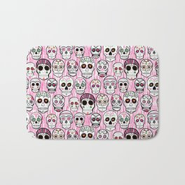 sugar skull tastic Bath Mat
