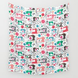 Sewing Pattern. Wall Tapestry