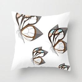 Anxiety Butterflies Throw Pillow