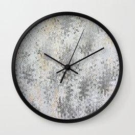 Abstract gray Wall Clock