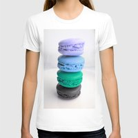 macaroons T-shirts featuring macarons / macaroons by WhimsyRomance&Fun