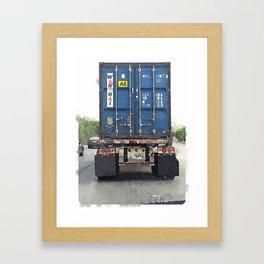 Daily Truck: 08/25/15 Framed Art Print